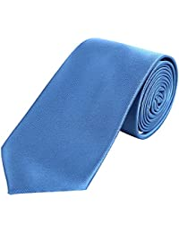 DonDon hombres corbata 7 cm business professional classica hecho a mano para la oficina o eventos festivos