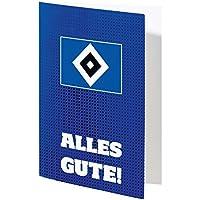 "Glückwunschkarte Karte ""Alles Gute"" Hamburger SV HSV"