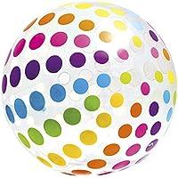 Intex - Pelota hinchable gigante círculos 107 cm - 3 años (59065)