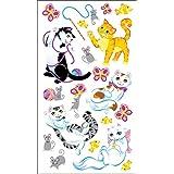 Sticko Stickers-Playful Kittens