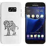 Blanco 'Bebé Elefante' Funda / Carcasa para Samsung Galaxy S7 (MC00032372)
