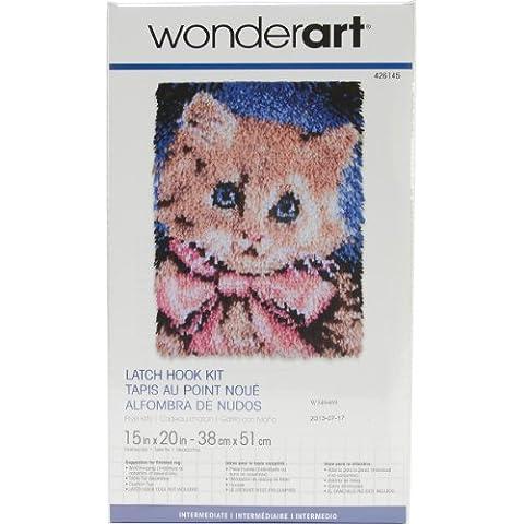 Spinrite acciaio Wonderart fermo Kit Hook, Premio Kitty