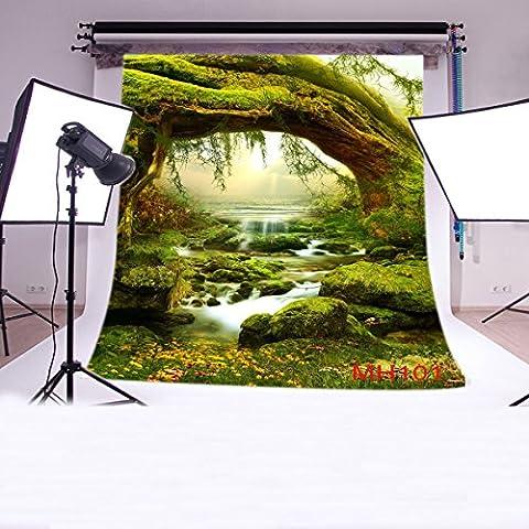 Sottile in vinile Studio favola sfondo CP fotografia prop foto sfondo 3x 3m MH101