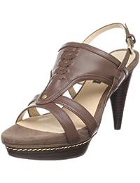 Pilar Abril Assunta 08772 - Sandalias de vestir de cuero para mujer