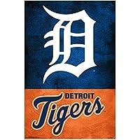 Unbekannt Detroit Tigers Team Logo MLB Poster RP16511