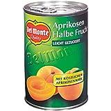 Del Monte Aprikosen 1/2 Fr.in Fruchtmark , 4er Pack (4 x 420 g Dose)