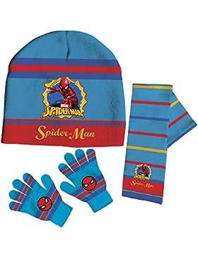 Set gorro bufanda guantes Spiderman Marvel,1unidades por pedido