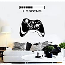 ELTON Loading Xbox Decal Sticker Wall Vinyl Art Design Gamer Cool Funny Game Room
