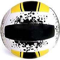 CN Voleibol Suave Inflable, Voleibol de Prueba, Voleibol de Playa, competición de Interior, Voleibol,Amarillo,5
