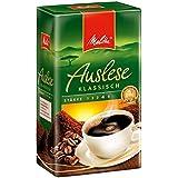 Melitta Gemahlener Röstkaffee, Filterkaffee, vollmundig und temperamentvoll, kräftiger Röstgrad, Stärke 4, Auslese Klassisch, 12 x 500 g
