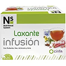 NS Nutritional System Laxante Infusión, 20sobres