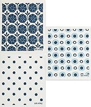 Trendy Tripper İsveç bulaşık bezi, 3'lü set, koyu mavi (PD) tas