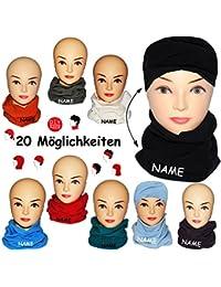 """Microfaser Fleece - Multifunktionstuch - """" freie Farbwahl """" - UNIVERSAL Größe - Schlauchschal / Pulswärmer / Halstuch / Mütze - für Baby / Kinder / Erwachsene - Multifunktionsschal - Schal- Loop Kinder Mädchen Jungen - Tube Mützenschal / Schlauchtuch - Rundschal - Mütze / Winterschal - Fleeceschal - Schalmütze Saharatuch - Halstuch - Wintermütze - Damen Herren / Wickelschal"""