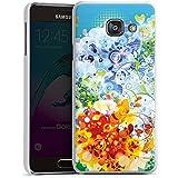 Samsung Galaxy A3 (2016) Housse Étui Protection Coque Floral Motif Motif