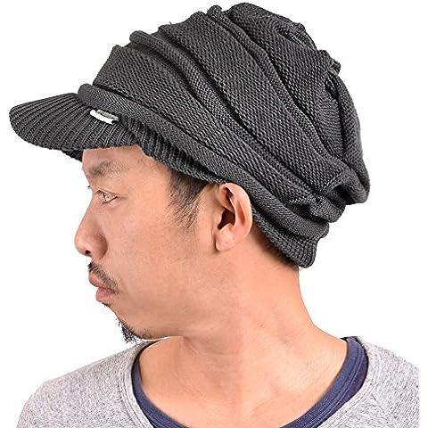 Casualbox Uomo picco cappellino beanie berretto maglione cappello inverno caldo