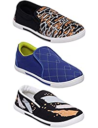 Scantia New Latest Fashionable With Stylish Attractive Look Men/Boys Combo Casual Trendy Shoes Comfortable To...