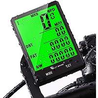 West Biking Ordinateur de cyclisme étanche sans fil avec compteur de distance, réveil automatique, écran LCD rétroéclairé, capteur de mouvement, compteur de vitesse
