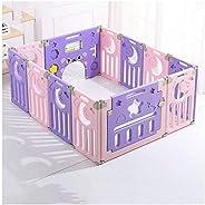 Playpens Plastic Child Foldable Portable Room Divider Kids Barrier Home Indoor Children's Activity Center