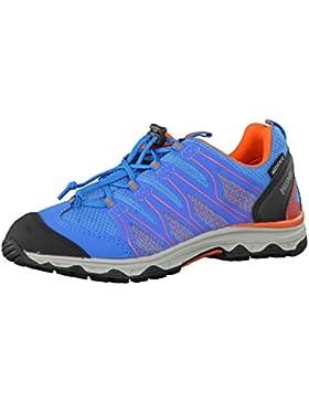 Meindl 2001-18 - Zapatos de cordones para niño azul hellblau/orange Wave Junior
