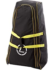 Longridge TRTCD Trolley Cover Deluxe - Funda universal para carretillas de golf, color negro