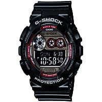 Casio G-Shock GD-120TS-1ER Orologio Digitale da Polso, Unisex, Resina, Nero