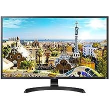 """LG 32UD59-B - Monitor 4K UHD LED de 80 cm (32"""" pulgadas, HDMI, DisplayPort, VA, 5ms, 16:9, 3840 x 2160), color negro"""