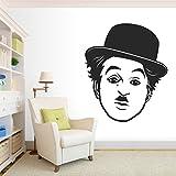 StickMe 'Charlie Chaplin - Legend Wall Sticker' - SM 356 ( PVC Vinyl - 50cm X 50 Cm )