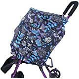 Semme Baby Nursing Cover,Multi-Use Breastfeeding Cover Car-Seat Canopy Shopping Cart Cover,Newborn Nursing Blanket Scarf,Shawl For Girls And Boys(#02)