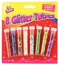 Artbox Lot de 8 tubes de paillettes