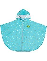 Chilsuessy Unisex Enfant Manteau Imperméable Ponchos de Pluie avec Capuche 2-9 Ans