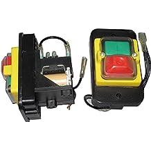Kedu 16A 220V 8 pines Impermeable Electromagnético Interruptor de Botón de encendido apagado Interruptor para jardinería