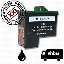 TINTENPATRONE DRUCKERPATRONE PATRONE SCHWARZ BLACK REFILLL für LEXMARK Typ Nr.16 / 17 für x-Serie: x1110, x1130, x1140 etc.