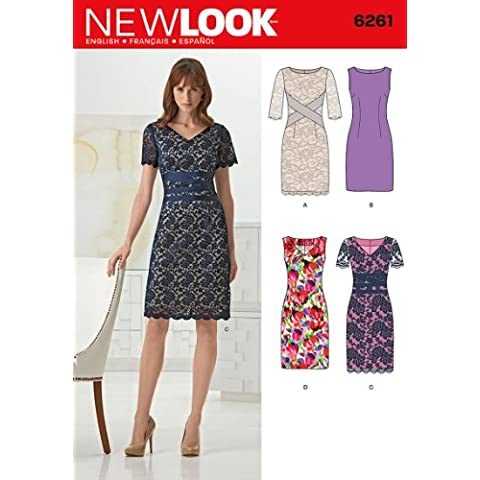 New Look Sewing Pattern 6261 - Misses