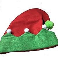 HEJIANGTAO El Duende Adulto Lindo del bebé de la Navidad Campanas Payasos Que Camina el Sombrero Comodidad Felpa, Sombrero de la Bola del Payaso de los PP