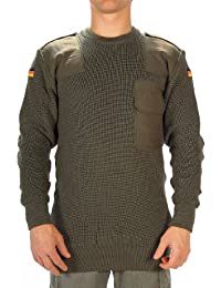German Army Style Olive Green Jumper Pullover