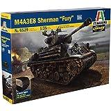 Italeri 1/35 M4A3E8 SHERMAN FURIA # 6529-kits modelo, plástico