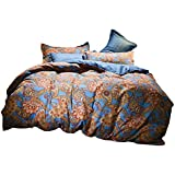 AHDA - Juego de ropa de cama (3 piezas, incluye funda de edredón y