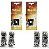 2 unidades, taza de café Melitta Perfect Clean Café, capacidad 4 x 1,8 g – 1500791