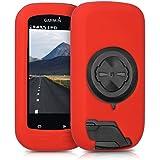 kwmobile Housse pour Garmin Edge 1000 / Explore 1000 - Housse de protection pour GPS vélo - coque pour compteur vélo rouge