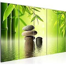 Bilder Feng Shui Steine Wandbild 200 X 80 Cm Vlies   Leinwand Bild XXL  Format Wandbilder