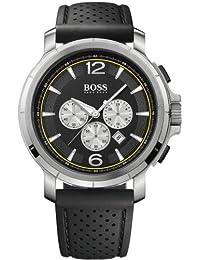 Hugo Boss 1512455 - Reloj de caballero de cuarzo, correa de caucho color negro