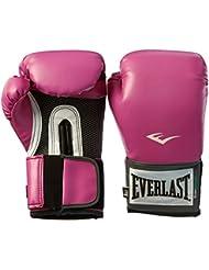 Everlast Pro Style–Guantes de entrenamiento de la mujer - 1200027, Rosado
