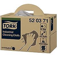 Tork Paño de limpieza ultrarresistente Premium / 1 capa/Papel multiuso compatible con el sistema W7, surtido de colores y tamaños