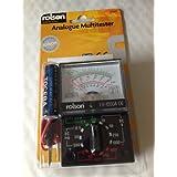 Rolson–Rolson Analogique Multimètre analogique multimètre A 7gammes DC Position et 4gammes AC Position également B3amplitude de position Ohm