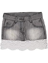 boboli Denim Stretch Skirt For Girl, Falda para Niños