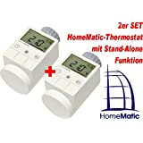 HomeMatic Funk-Heizkoerperthermostat 2er Set