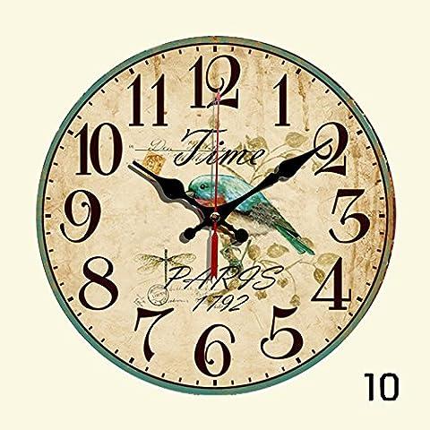 nllpjmf silenzioso orologio da parete Home decoration-12cm