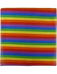 100% Cotton Rainbow Bandanna/Bandana Gay Pride LGBT Bikers Scarf
