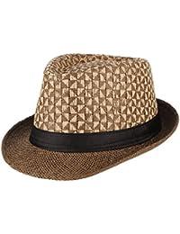 La Vogue Cappello Paglia Uomo Berretto Da Sole Cappello Jazz per Vacanza 2a8c66b628ef