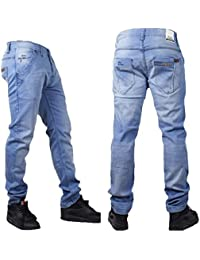 f5d74f9dda Blue Stripe Denim Estrecho Rock Star Mens g Jeans
